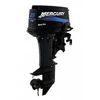 Мотор 2-х тактный Mercury 25 M SEAPRO (51 кг | 430 куб. см)