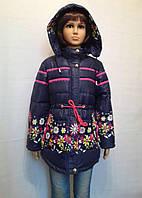 Весенняя курточка из плащевки с утеплителем