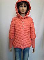 Однотонная куртка с модными рукавами, фото 1
