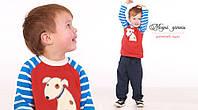 Реглан детский. кофта для мальчика с не большым подчэсом.