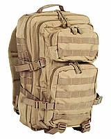 """Туристический рюкзак Mil-Tec(мил тек) ASSAULT """"L"""" """"Койот""""36л"""