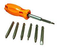 Отвертка универсальная Xiteli Tools 0821 7 насадок