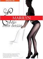 Колготки женские MARILYN EROTIC VITA BASSA 30 с кружевным поясом