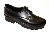Классические туфли на тракторной подошве, фото 1