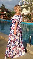 Платье женское крестьянка