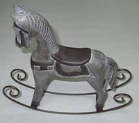 Лошадка Прованс коричневая