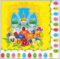 Салфетка Luxy пасх Праздничный собор