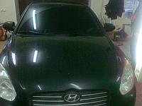 Заднее стекло на Hyundai Accent/Verna (2005-2010)