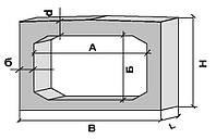 Звенья прямоугольные для водопропускных железобетонных труб ЗП 11.100