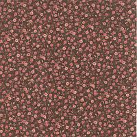 Ткань для пэчворка и рукоделия Moda - Roses Chocolates Chocolate