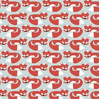 Ткань для пэчворка и рукоделия Monaluna - Foxy Too