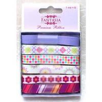 Ленты Fantasia - Пурпурные сумерки, 6шт*1м