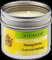 Свеча массажная ароматическая Suumerfeeling Greendoor (Летнее настроение)