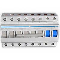 Перекидной рубильник ввода резерва Hager SF463 400В/63A, 3+N, 8мод