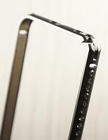 "Металлический бампер со стразами ""Crystall"" для Apple iPhone 5/5S Чехол для айфона"