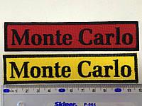 Нашивка Monte Carlo