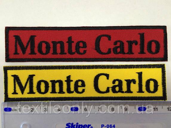 Нашивка Monte Carlo, фото 2