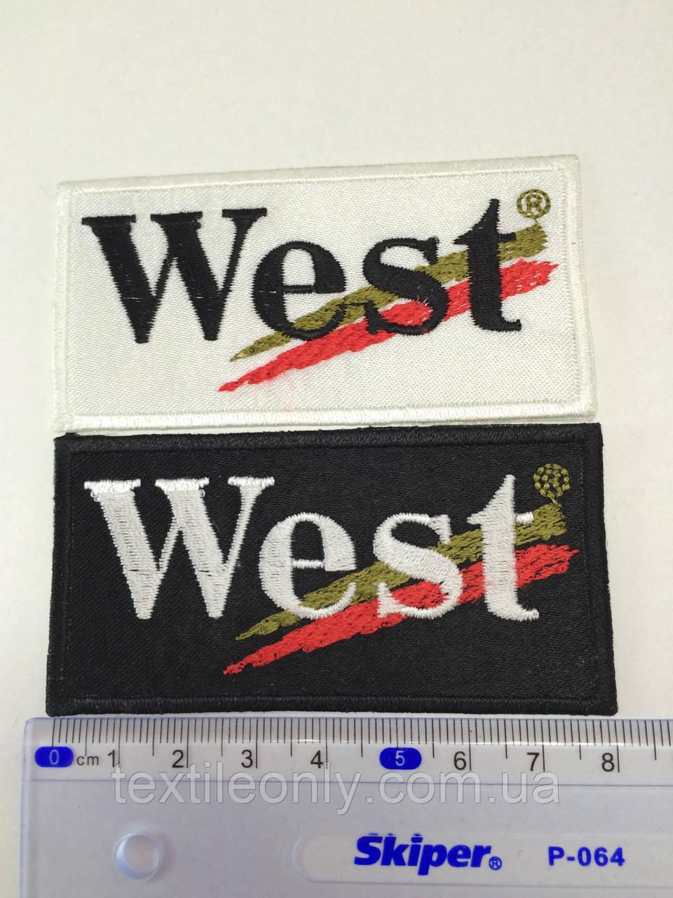 Нашивка West