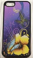 """Пластиковый чехол """"3D Butterfly"""" для Apple iPhone 5/5S Чехол для айфона"""