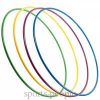 Обруч пластмассовый, диаметр 89 см, разн. цвета, фото 1