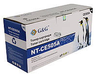 Картридж CE505A совместимый для HP LJ P2035/ P2055 series, G&G-CE505A Black