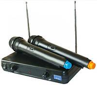 Радиосистема UKC EW 500 Микрофон 2шт. Радиомикрофон