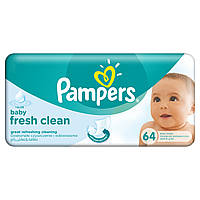 Детские влажные салфетки Pampers Baby Fresh Clean, 64 шт.