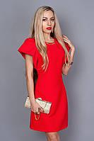 Изысканное платье красного цвета