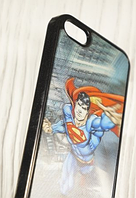 """Пластиковый чехол """"3D Superman"""" для Apple iPhone 5/5S Чехол для айфона"""