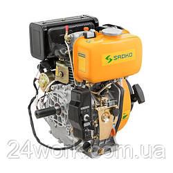 Двигатель дизельный SADKO DE-300E шпонка (6.0 л.с.)