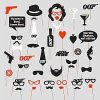 """Фотобутафория для свадебной фотосессии """"007"""""""