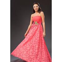 Длинное вечернее платье Краса