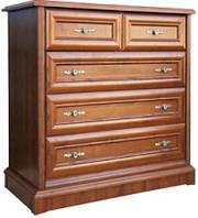 Комод Людовик New 5Ш/10 1000 Мебель-Сервис /  Комод Людовик New 5Ш/10 1000 Мебель-Сервіс