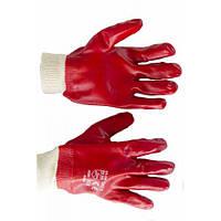 Перчатки масло-бензостойкие хлопчатобумажные с пвх (12 пар)
