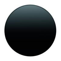 Накладка для поворотного диммера, чёрная, Berker R.1/R.3