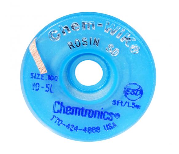 Распаивающая лента с флюсом  Chem-WIK HQ-WICK-S4 2.8мм/1.5м