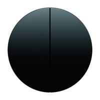 Клавиша для 2-кл. выкл., чёрная, Berker R.1/R.3
