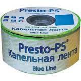 Капельная лента щелевая Presto Blue Line 10 см (1000 м)