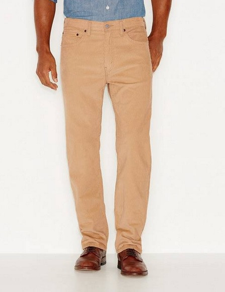 Вельветовые брюки Levis 505 Regular 36/36