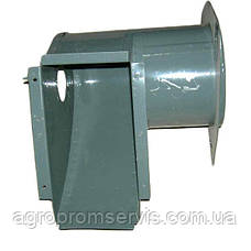 Кожух шнека бункера распределительный 54-6-5-1Г комбайн СК-5  Нива, фото 3