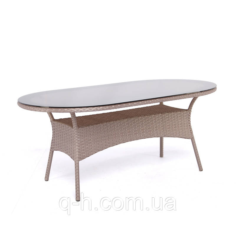 Обеденный стол Montana плетеный из искусственного ротанга