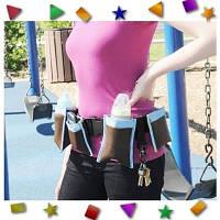 Универсальный пояс с карманами для молодых мам Waist Diaper Bag, фото 1