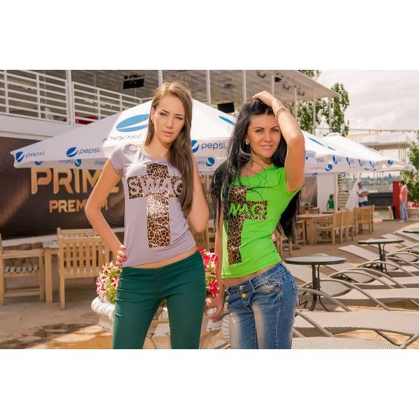 Женские футболки, майки, блузы и туники!