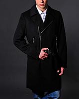 Мужское черное пальто - Richmond