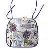 Подушка -сидушка для стула  Лаванда
