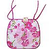Подушка -сидушка для стула  Орхидея