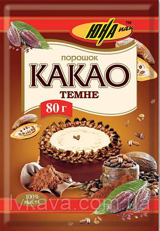 Какао темное Юна, 80 гр, фото 2