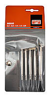 Набор прецизионных отверток шлиц, 5 шт., Bahco, 98505