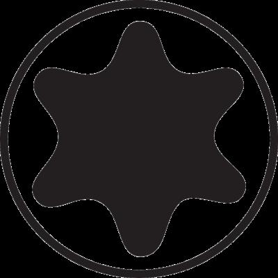 Отвертка с T-образной рукояткой под винты TORX®, T 9, Bahco, 901T-009-100, фото 2