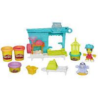 """Play-Doh Город Игровой набор """"Магазинчик домашних питомцев"""""""